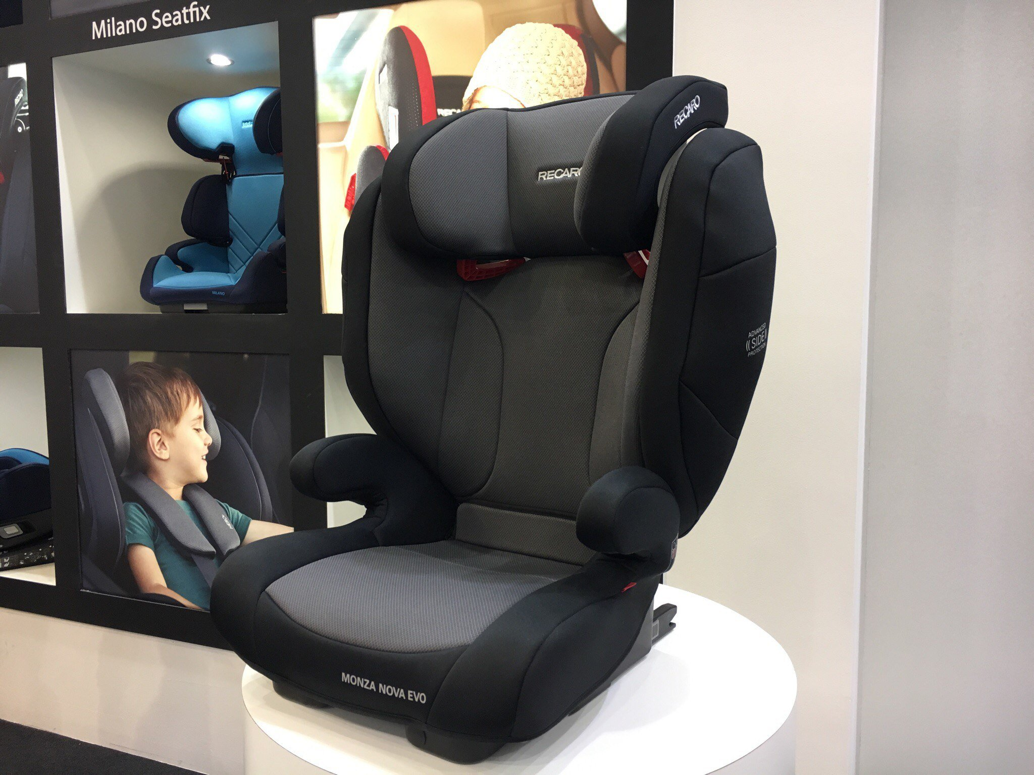 recaro monza nova evo seatfix. Black Bedroom Furniture Sets. Home Design Ideas